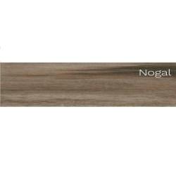 Piso tanger nogal 22.5x60 centimetros 1.62 metros cuadrados por caja castel