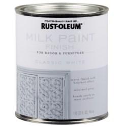 Pintura blanca leche vintage 946 mililitros true value 331049