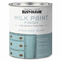 Pintura azul leche vintage 946 mililitros true value 331050