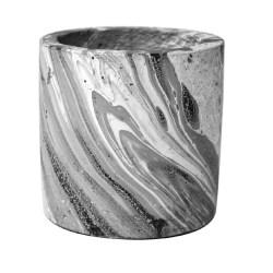 Maceta de cemento cilindro 4 true value afc756040-gg