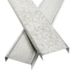 Canal amarre para carton yeso 2-1/2 pulgadas por 10 pies panel rey 800468