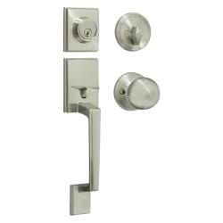 Cerradura tipo residencial porto llave llave niquel satinado kovak rpo01