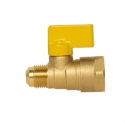 "Válvula para Gas 3/8""Flare X 1/2"" IP-200"