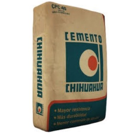 Cemento gris chihuahua 50 kilogramos gcc CEMSPC30