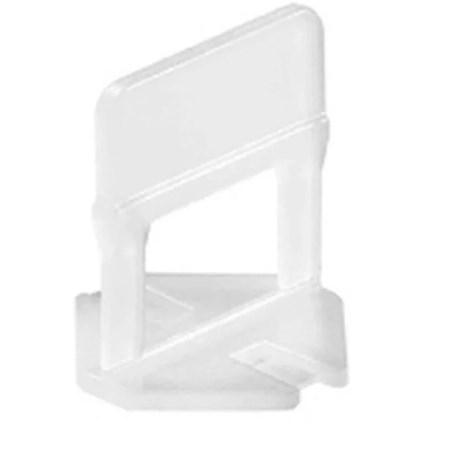 Clip sistema de nivelacion 1.0 milimetros 100 piezas acentos