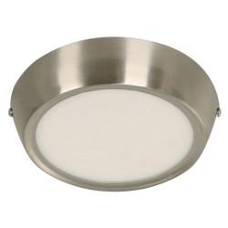 LAMPARA PARA TECHO LED 12 W NIQUEL SATINADO No. 21232-4  2PACK