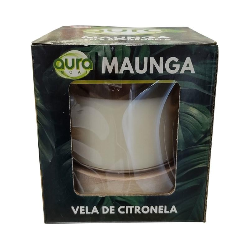 VELADORA AROMATICA CITRONELA 10 X 10 CMS No. 08AH004