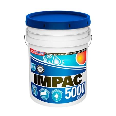 Impermeabilizante impac 5000 terracota fibratado 19 litros impac