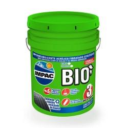 Impermeabilizante impac bio 3 años fibratado 19 litros impac