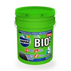 Impermeabilizante impac bio 5 años fibratado 19 litros impac