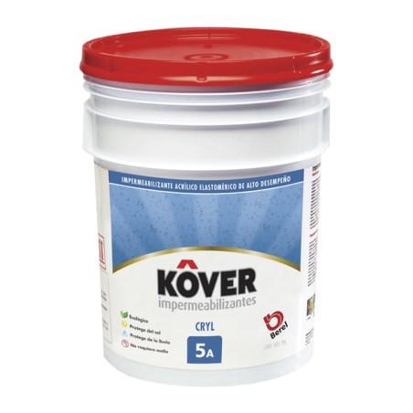 Impermeabilizante 5 años blanco 19 litros kover 2623
