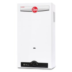Calentador de agua tipo instantaneo 13 litros gas lp rheem