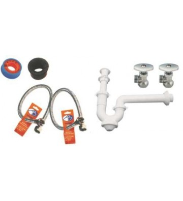 PAQUETE P/INST LAVABO No. KIT-1/KDE-F-02