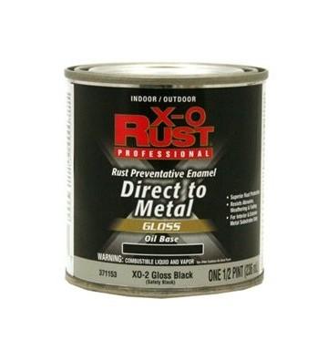 PINTURA PARA METAL NEGRO EXTERIOR Y INTERIOR 3.78L