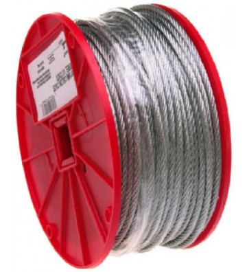 "CABLE ACERADO 1/4"" 76M No...."