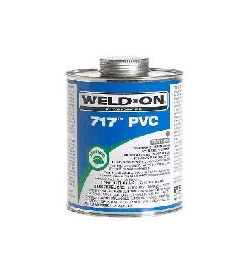 PEGAMENTO P/PVC C-40 GRIS W-ON 1/2L No. 71112L
