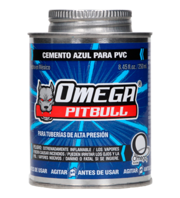PEGAMENTO P/PVC AZUL HIDRA 1/2L No. CA100012