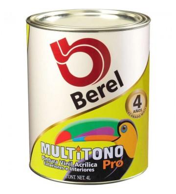 PINTURA BEREL BERELINTE BASE VINÍLICA NEUTRA 1L No.8005