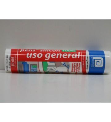PENS SILICÓN TRANSPARENTE USO GENERAL 100% No. SSI2T36