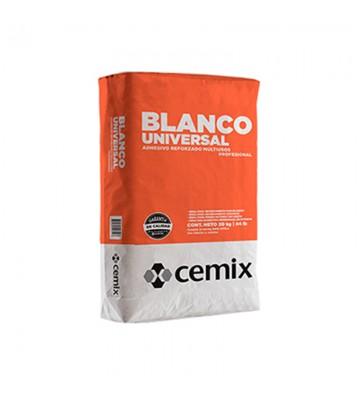 ADHESIVO BLANCO UNIVERSAL CEMIX 20KG