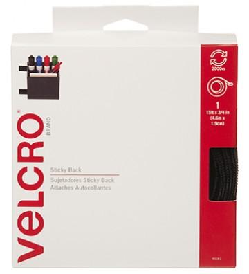 """VELCRO NEGRO 3/4"""" X 15 No. 90081"""