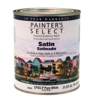 PINTURA PAINTERS SELECT BASE VINIL PASTEL SATINADO 3.72L No.CPSSP-GL