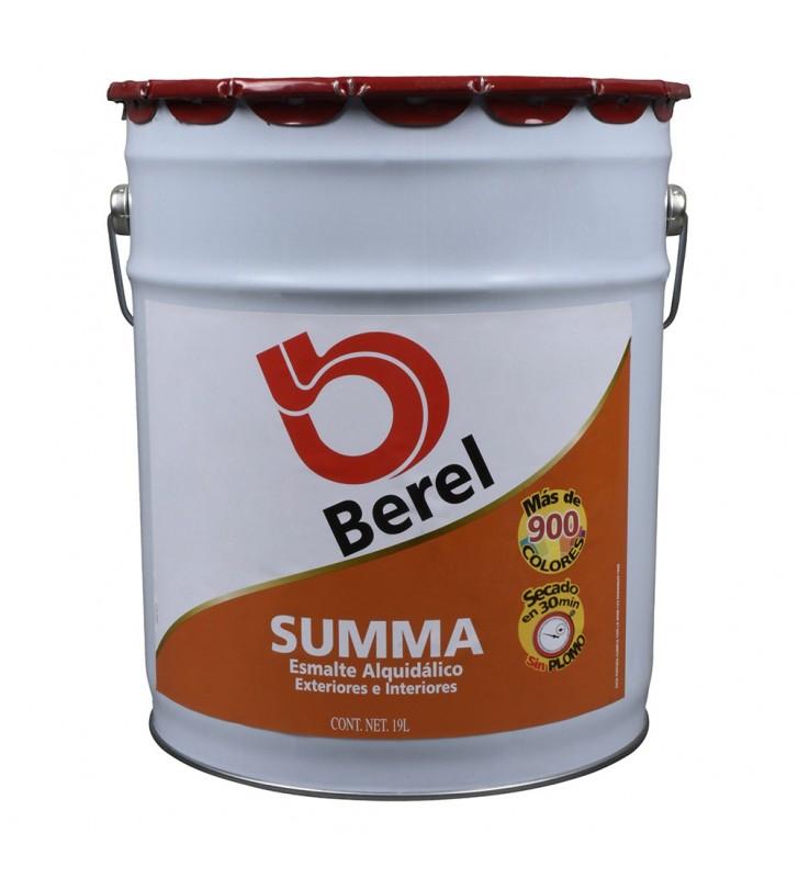 ESMALTE BEREL SUMMA BASE NEUTRA BLANCO 19L No.6005