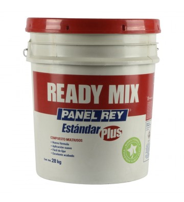 COMPUESTO MULTIUSOS READY MIX ESTÁNDAR PLUS DE 28 KG BLANCONo. 800720