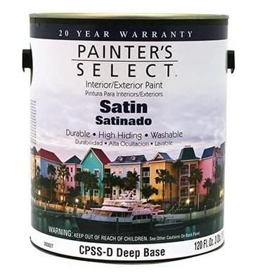 PINTURA PAINTERS SELECT BASE VINIL DEEP SATINADO 4L No. CPSSD-GL